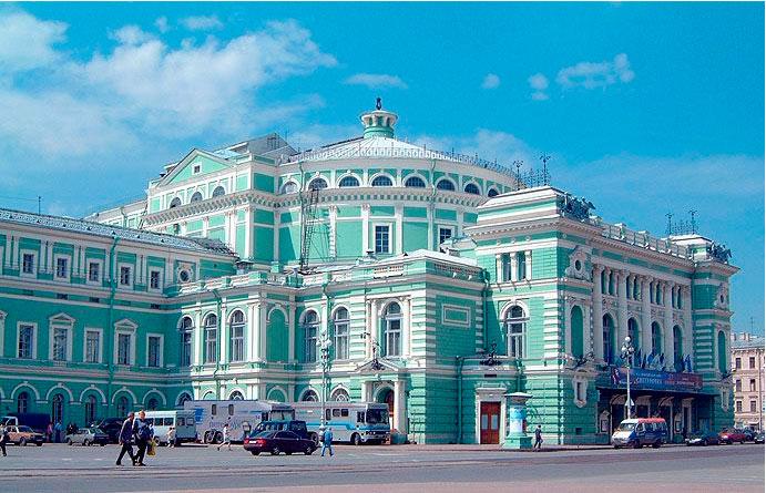 Teatro Mariynsky de San Petersburgo