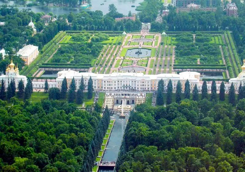 Petergof - El palacio de los Zares